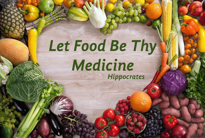 Let food be thy medicine - 건강 관리 참고 사항