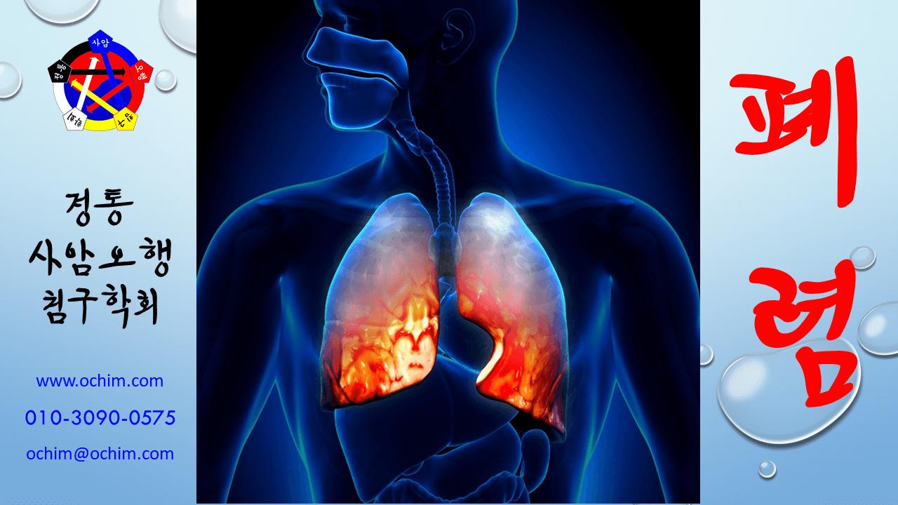 비과학적 양의학 60 - 표준 사망 절차인 폐렴과 치료 방법