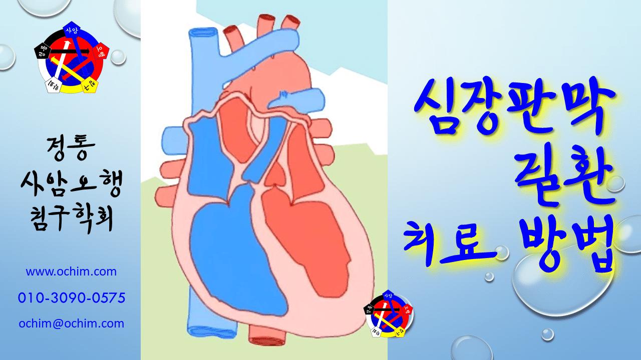 사암침법-심장판막질환-치료방법-비과학적-양의학-112